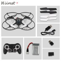 Wholesale Hd Camera Ufo Aircraft - Wholesale- HIINST Mini RC Quadcopter 2.4GHz 4CH 6-Axis Gyro 3D UFO Drone With 2.0MP HD Camera M9916 aircraft (200W camera) Ag18 p35