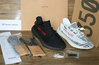 Wholesale Top Quality Leather Bags - 2017 TOP quality Sply 350 V2 Boost men's shoes zebra triple White black red Beluga Running Shoes (Keychain+Socks+Bag+Receipt+Original Boxes)