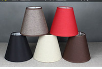Wholesale Flame Retardant Fabrics - S M L XL E27 Quality Fabric Flame Retardant PVC Lamp Covers&Shades Used for Table Lamps Floor Lights Wall Lamp Lighting Accessories