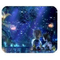 Wholesale Custom Shaped Rubber - General High Quality Final Fantasy X Mousepad Personalized Custom Mouse Pad Oblong Shaped In Gaming Mouse Pad Mat