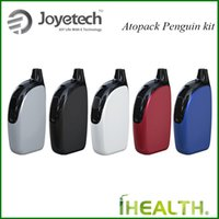 Wholesale Output Mah - Joyetech Atopack Penguin Start Kit 50w output all-in-one style device with 2ml  8.8ml capacity and built-in mAh battery fast shipping