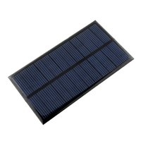 Wholesale Solar System Wholesalers - Mini 6V 1W Solar Power Panel Solar System DIY For Battery Cell Phone Chargers Portable Solar Panel