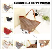 Wholesale Banquet Bags - Brand New Fashion Vintage Tassel Women Handbag,High Quality Canvas Chain Tote Shoulder Bags Casual Bags Banquet package