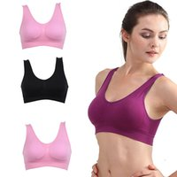 Hot Sell Frauen Soft Sport BH Yoga Fitness Stretch Workout Tank Top Nahtlose gepolsterte BH Higt Qualität