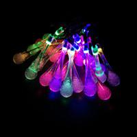 precio de jardn decorativo waterdrop led lmpara solar lmpara luces novedad