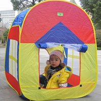 Wholesale Promotion Games Baby - baby play gift promotion toy tent kids game house baby play tent,Child gifts ZP2005