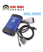 Wholesale GM MDI scanner Multiple Diagnostic Interface New Arrivals GM MDI Diagnostic Tool with WIFI Card MDI DHL Free