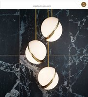Wholesale brand new led indoor fashion pendant lamp drop globe S M L fixture ceiling light