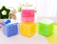 Legal!! Maze Magic Cube Puzzle 3D Mini Speed ​​Cube Labirinto Rolling Ball Brinquedos Puzzle Game Cubos Magicos Learning Toys For Chilren
