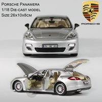 Wholesale Toy Cars Open - Adult Child Alloy Toys Car Model 1 18 collection Car 6 Parts Open Diecast Car Model