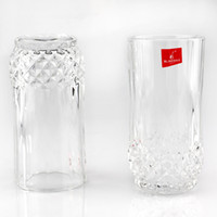 Wholesale Diamond Round Cut - glass Diamonds Beer Cups Heat resistant Cups Transparent Whiskey Cups Home Bar Birthday Party Beer Wine Whisky Drinking Glasses Cup
