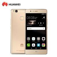 Wholesale Dual Sim Android 3g Huawei - Original Huawei G9 Lite P9 Lite VNS- TL00 4G LTE Mobile Phone 5.2 inch Octa Core Fingerprint ID 3G RAM 16G ROM 13.0MP free shipping