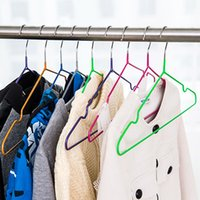 Wholesale Skidproof Clothes - Durable Stainless Steel Clothes Hanger Skidproof Laundry Rack Wardrobe Clothes Organizer 20pcs