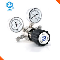 Wholesale CE certification R41 series Stainless steel L PSI High Pressure argon co2 propane natural gas pressure regulator