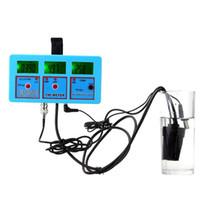 Wholesale Salt Water Tester - Wholesale-6 in 1 aquarium Water Quality salt water pool tester aqua medidor de pH Meter test Acidometer Analyzer misuratore teste phmetro