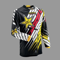 Wholesale Downhill Cycles - 2017 New Brand Motorcycle T-shirt Jersey Motocross Racing Downhill Off-road Mountain Bike Cycling T Shirt Long-sleeved Clothing M~XXL