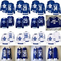 Wholesale Browns Throwback Jerseys - 1918 Arenas Throwback Jerseys 34 Auston Matthews 16 Mitchell Marner 29 William Nylander Toronto Maple Leafs Hockey Jerseys Cheap