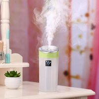 Wholesale Wholesale Oil For Cars - Mini Aroma Diffuser USB Humidifier Air Purifier Purification 300ML Essential Oil Aromatherapy Diffusers Silent for Home Car