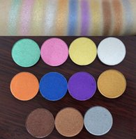 Wholesale Eyeshadow Palette 26mm - 11 Colors for choose 26mm eye shadow palette single color pearl eyeshadow powder for eye makeup
