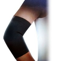 Atacado - 1PC High Quality Sports Black Stretchy Elbow Support Wrapper Protector