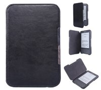 Wholesale Leather Kindle Keyboard Covers - Ebook reader covers for kindle keyboard(3rd generation),the thinnest and lightest PU leather case