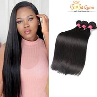 Wholesale Discount Virgin Hair - Brazilian Top Quality Remy Hair Weave Straight High Fidelity Discount Hair Extensions 8A Grade Unprocessed Virgin Straight Remy human hair