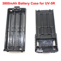 Wholesale Tyt Battery - Wholesale- New Arrival Battery case for BaoFeng UV-5R TYT TH-F8 Same Size as 3800mAh Battery Support 6 AA Battery(Battery not included)
