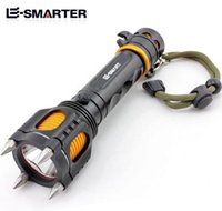 Wholesale Highlight Torch - Hot sell T6 Rechargeable Highlight LED Flashlight Security patrol outdoor home Torches