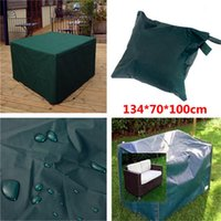 Wholesale Garden Furniture Wooden - Wholesale- Hot Sale Waterproof 134*70*100cm Outdoor Furniture Cover Garden Patio Coffe Table Desk Cover Wooden Chair Rainproof Cover