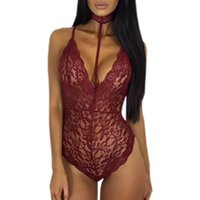 Women's Sexy Bodysuits senza maniche in chiffon del V-collo Bodycon Bodysuits Playsuits più la tuta di formato donne vestiti JC0425