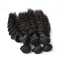 Wholesale top quality peruvian hair - Peruvian Virgin Hair Weave Bundles 100 Human Hair Extensions Natural Color Shedding Free Top Quality