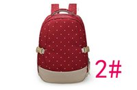 Wholesale Bagpack Outdoors - Mommy Diaper Bags Nappies Maternity Backpacks Brand Fashion Desinger Handbags Outdoor Mother Backpack Nursing Bag Bagpack Mochila Feminina