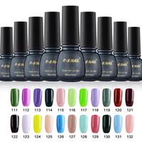 Wholesale Gel Unhas - Wholesale- RS nail soak off gel nail 3 step of lacquers vernis uv color unhas de gel gel nail polish set ongle harmonyuv lucky set