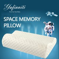 Wholesale Latex Pillows - 3 Colors Foam Memory Pillow Travel Sleeping Latex Neck Pillow Rebound Pregnancy Pillow Protect Health Care