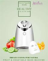 máquina de verduras al por mayor-De primera calidad Nueva llegada DIY Fruta y verdura Facial Máscara Facial Cuidado de la cara Portátil Portátil Naturaleza mini máquina