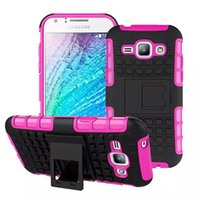 Wholesale Galaxy Grand Back Cases - Rugged Hybrid Duty Armor For Samsung Galaxy J120 J1 2016 Grand Prime G530 Phones Case Shock Proof Back Cover