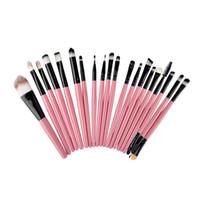Wholesale wholesale lip eye online - Professional Makeup Brushes Set Powder Foundation Eyeliner Lip Cosmetic Makeup Brushes Eyeshadow Eyeliner Lip Brush