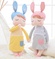 Wholesale New Toys For Girls - New girl Dream Angela rabbit plush toys doll for child's gift with four kind of toys no40