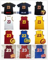 Wholesale Lebron Logo - 2017 Wholesale Men's #23 LeBron James Basketball Jersey Adult Embroidery Logos and Stitched James Jerseys Fast free shipping