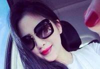 Wholesale M Eyeglasses - women brand sunglasses fashion M 070 polarized sunglasses female personality tide eyewear Oculos De Sol with box sun eyeglasses