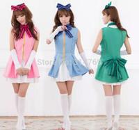 Wholesale Dash Clothing - Anime Love Live! Kousaka Honoka Umi Sonoda Minami Kotori Cosplay Costume Love Live Start dash!! Cosplay Theatrical Clothes