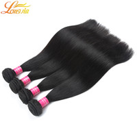 Wholesale Wholesale Price Quality Weave - 8A Great Quality Human Hair Extensions Malaysian Straight Hair Bundles Dyeable Natural Color Mix length 3 4 5 Pcs Lot Factory Price