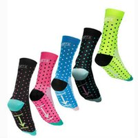 Wholesale wicking running socks - High Quality Professional Brand Cycling Sport Socks Protect Breathable Wicking socks Cycling Bicycles Socks