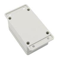 boîtiers électroniques achat en gros de-Vente en gros - boîtier électronique en plastique imperméable de boîte de projet de GTFS-blanc 100 * 68 * 50mm