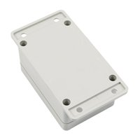 Wholesale plastic box electronic project online - GTFS White Waterproof Plastic Electronic Project Box Enclosure Case mm