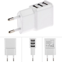 Wholesale charger multi plug online – 5V A EU Multi USB Charger Device Plug For Oneplus iPhone S S for Samsung Galaxy S5 Travel Usb Power Adapter Wall Charger