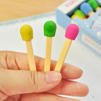 30 pcs / Lot Cute Eraser Lovely Colored Eraser for Kids Étudiants Kid Creative Item Gift Prize Fournitures scolaires Papeterie Cute Prize Gifts