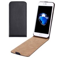 For Apple iPhone split vertical - For iPhone Plus Vertical Flip Genuine Split Leather Case with discount price and retail package