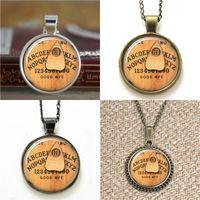 Wholesale Arts Pendant Glass - 10pcs Ouija Board Halloween Art Necklace keyring bookmark cufflink earring bracelet