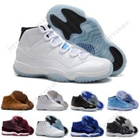 Wholesale Blue Silk Velvet - 2017 High Retro 11 Velvet Heiress Suede Wine Red Grey Mens Basketball Shoes Sneakers Out Door Sports Sneakers for Men Size 36-47 US 5.5-13